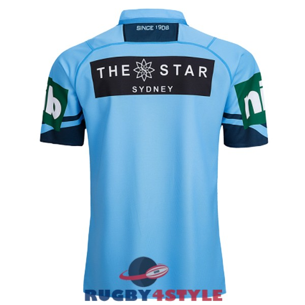 NSW blues rugby casa 2018 2019 maglia