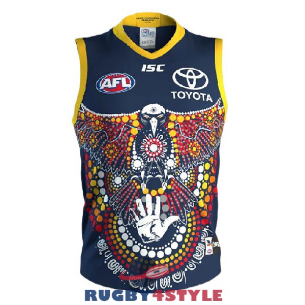 adelaide crows AFL Guernsey indigenous 2020 2021 maglia