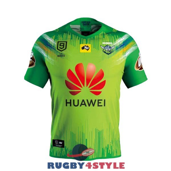 canberra raiders 9s rugby casa 2020 maglia
