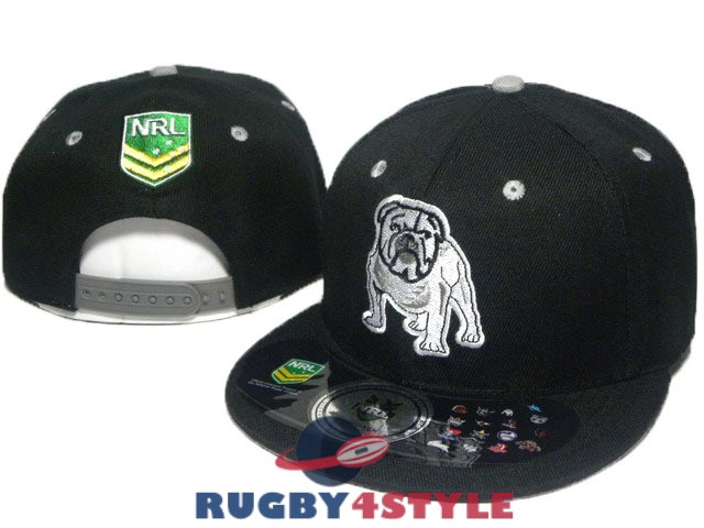 canterbury bankstown bulldogs NRL nero cappello [maglierugby2020-10-19-346]