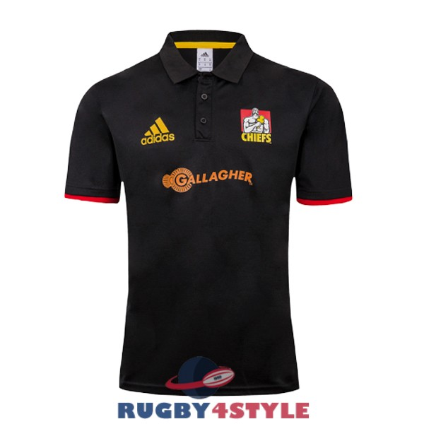 chiefs rugby nero 2019 polo