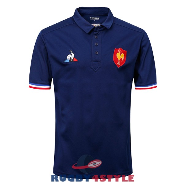 francia rugby blu scuro 2018 2019 polo