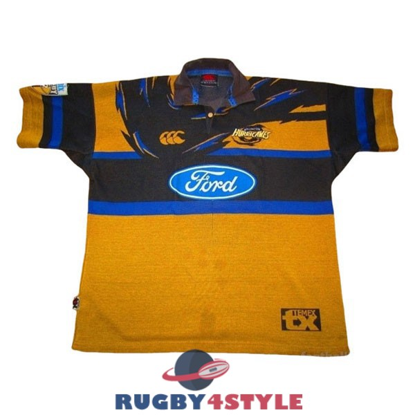 hurricanes rugby vintage 1999 maglia