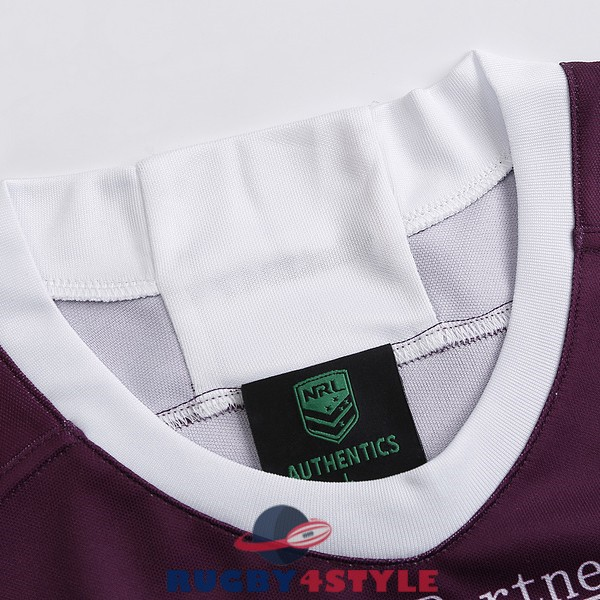 manly warringah sea eagles rugby casa 2019 maglia