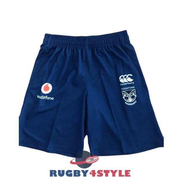 shorts 2021 blu nuova zelanda warriors rugby