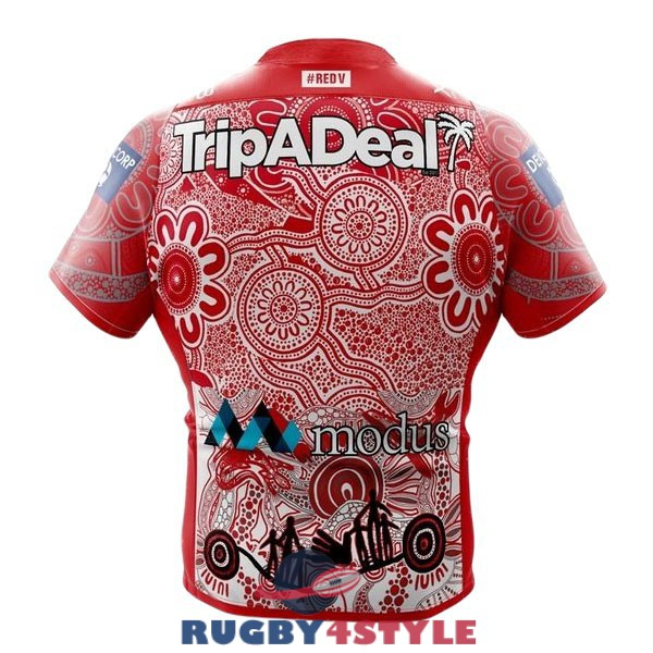 st george illawarra dragons rugby indigenous 2021 maglia