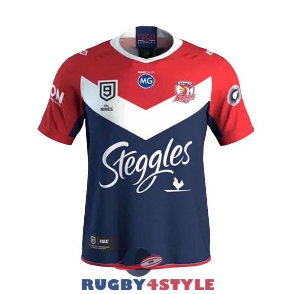 sydney roosters 9s rugby casa 2020 maglia