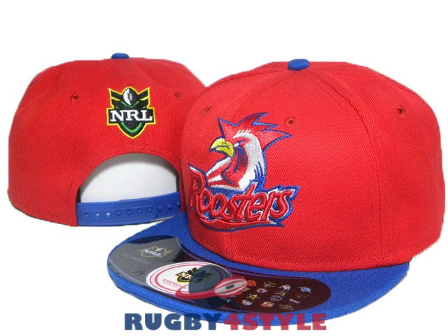 sydney roosters NRL rosso blu cappello