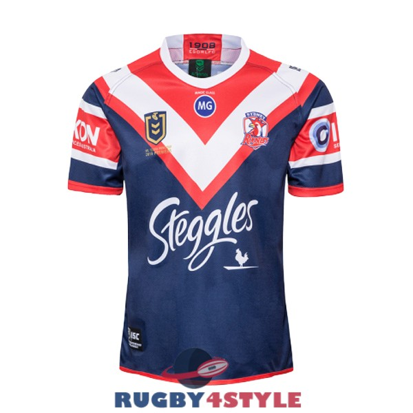 sydney roosters rugby campionato rosso blu maglia