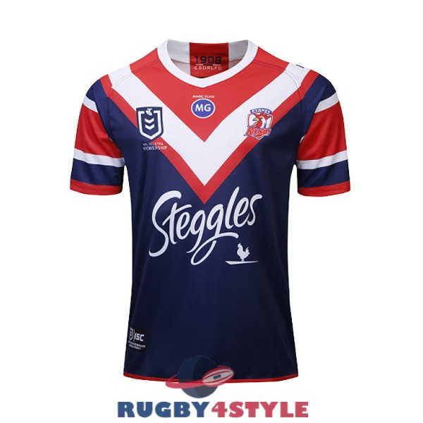 sydney roosters rugby casa 2019 maglia