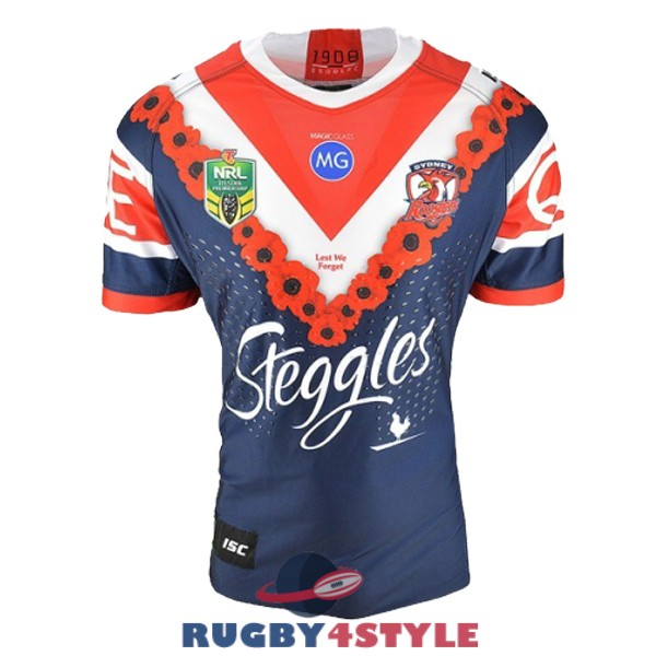 sydney roosters rugby edizione commemorativa 2018 2019 maglia [maglierugby2020-10-19-316]