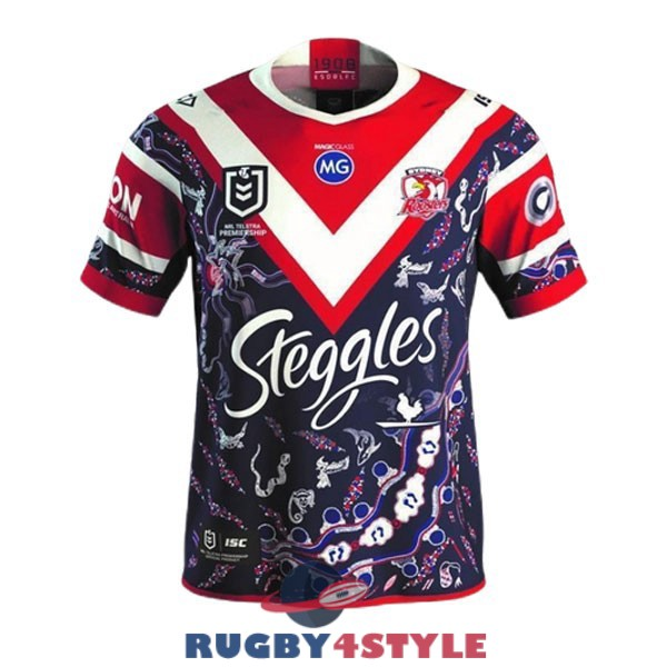 sydney roosters rugby indigenous 2021 maglia