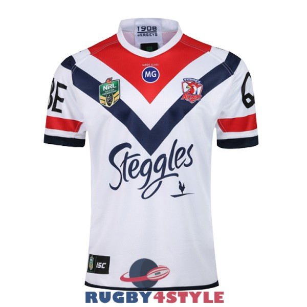 sydney roosters rugby seconda 2018 2019 maglia