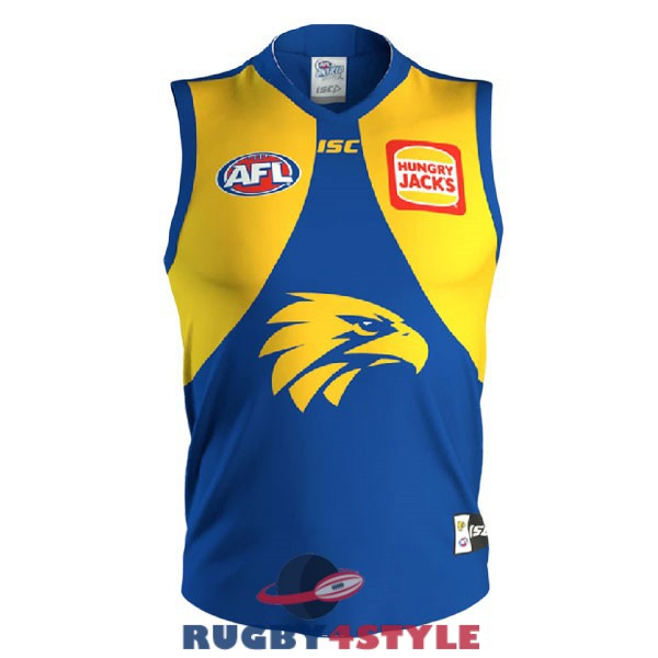 west coast eagles AFL Guernsey blu giallo 2020 2021 maglia [maglierugby2020-10-19-39]